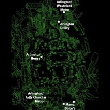 Fallout 3 Bobblehead Locations Map by Fallout 3 Map Bobblehead Locations