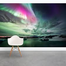 wallums wall decor wall decals art prints and removable wallum s newest removable wall mural northern lights wall mural http www wallums com northern lights wall mural html