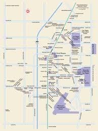 Las Vegas Tram Map Las Vegas Maps