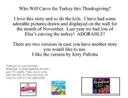 who will carve the turkey this thanksgiving by cherise cotter tpt