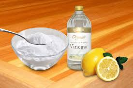 why lemons vinegar u0026 baking soda are excellent natural cleaning