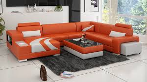 Orange Living Room Set High Quality Modern In Living Room Sofas From Furniture On