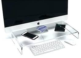 Acrylic Desk Organizer Acrylic Desk Organizer Monitor Stand Riser Workstation Acrylic