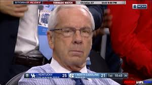 Coach K Memes - roy williams pissed throws suit jacket vs kentucky youtube