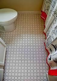 Inexpensive Bathroom Flooring by 8 Best Bathroom Reno Images On Pinterest Bathroom Floor Tiles