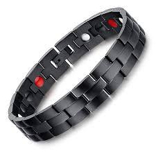 black magnetic bracelet stainless images Nomination bracelet black stainless steel magnetic bracelet for jpg