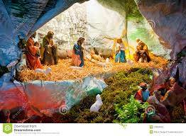 jesus birth in bethlehem stock image image of color 18094859