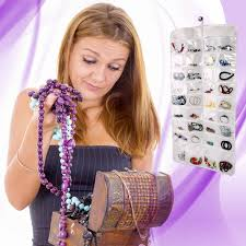 jewelry hanging organizer u2013 clear the clutter organize your