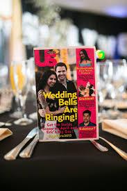 Magazine Wedding Programs Take The Cake Events Classic Hollywood Themed Lake Tahoe Wedding