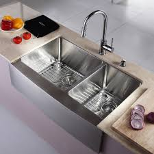 stainless farmhouse kitchen sink farmhouse sink stainless steel undermount with gauge of stainless