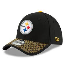 s pittsburgh steelers new era black 2017 sideline official