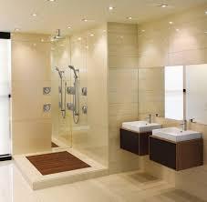 blooming teak shower floor with plaster kitchen dressing