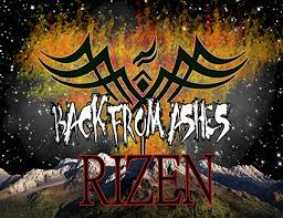 from ashes back from ashes release new single rizen