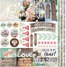 wedding scrapbook supplies wedding scrapbooking scrapbook paper scrapbook stickers