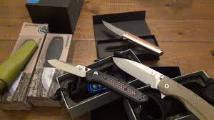nice kitchen knives unboxing really nice knives from goinggear a monster flashlight