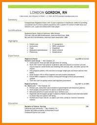 resume wording exles operating room resume resumes exles for nurses registered