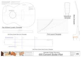 kalen acoustic guitar woodworking plans