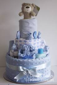 how to make a cake for a boy donna s doodles 3 tier baby boy nappy cake nappy cakes