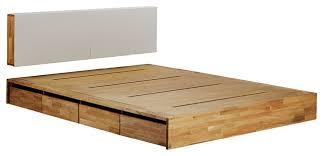 King Platform Bed With Headboard Mash Lax Platform Solid Wood Storage Bed Modern Platform Beds