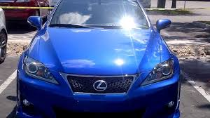 lexus is 250 deals lexus is250 f sport ultrasonic blue mica youtube