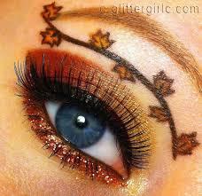 thanksgiving makeup look glittergirlc