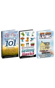 buy off grid living box set introduction to alternative off grid