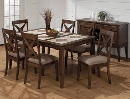 tile top dining room tables tuscon dining table with tri color tile top 79464 tables