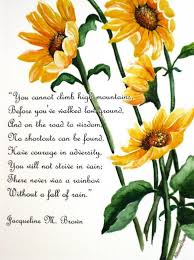 Flower And Love Quotes - best 25 sunflower quotes ideas on pinterest quotation on smile