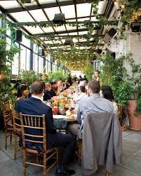 a romantic brown restaurant wedding in new york city martha