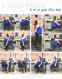 Desk Chair Workout Best 25 Desk Yoga Ideas On Pinterest Sitting Yoga Poses Back