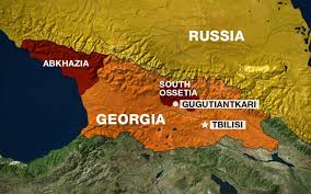 south ossetia map government tries with russia al jazeera america