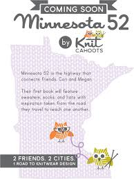 Minnesota book travel images Knit cahoots the book minnesota 52 png