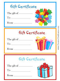 gift certificates samples restaurant gift certificate template