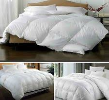 13 5 Tog All Seasons Duvet No Pattern Down Feather Mix Comforters U0026 Bedding Sets Ebay