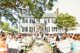 plantation wedding venues outdoor wedding ceremony robyn southern ceremonies
