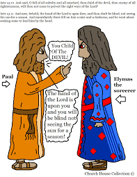 church house collection blog paul and elymas the sorcerer