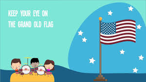 Grand Old Flag You U0027re A Grand Old Flag Song For Kids American Patriotic Music