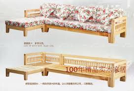 sofa surprising corner wooden sofa cheap wood pine living room