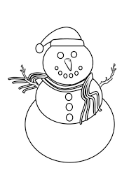 printable snowman coloring pages winter coloring pages