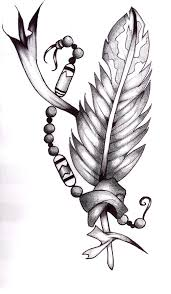 cool indian feather tattoo designs tattoomagz