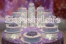 wedding cake holder 9pcs set luxury party cake stand wedding necessities