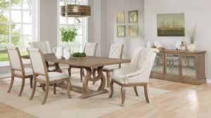 scott living glen cove 107731 traditional weathered dining room set