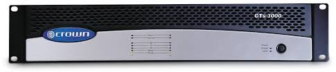 cts 3000 crown audio professional power amplifiers