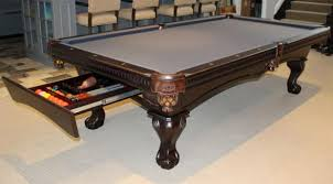best pool table for the money buy 8 strathroy pool table with drawer for accessories at dynamic