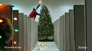 a cure for the common cubicle christmas spirit amway youtube