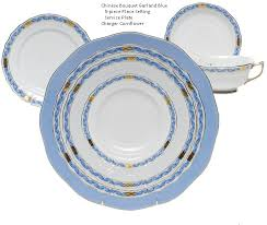 herend bouquet garland blue 5 place setting nehas
