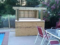 Diy Outdoor Bar Table Diy Outdoor Bar Table Landscaping Backyards Ideas Attractive