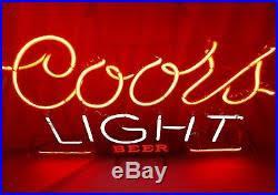 vintage coors light neon sign vintage authentic coors light neon sign works neon bar beer sign