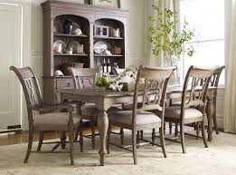 7pc Dining Room Sets 7 Piece Dining Set With Canterbury Table And Quatrefoil Back