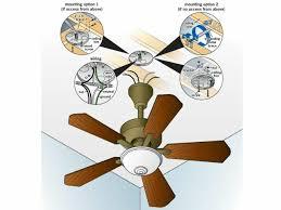 electric fan box type ceiling fan installation replacement service wiring install fan